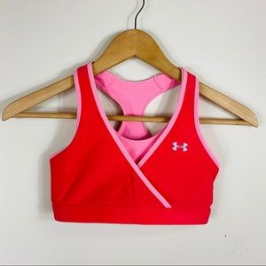 UNDER ARMOUR | Reversible Pink Sports Bra